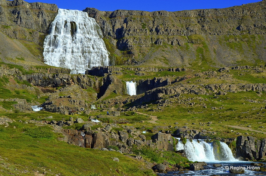 Dynjandi waterfall Westfjords