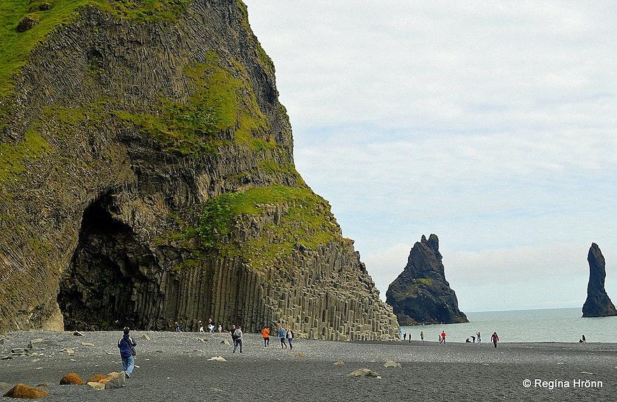 Hálsanefshellir cave at Reynisfjara beach