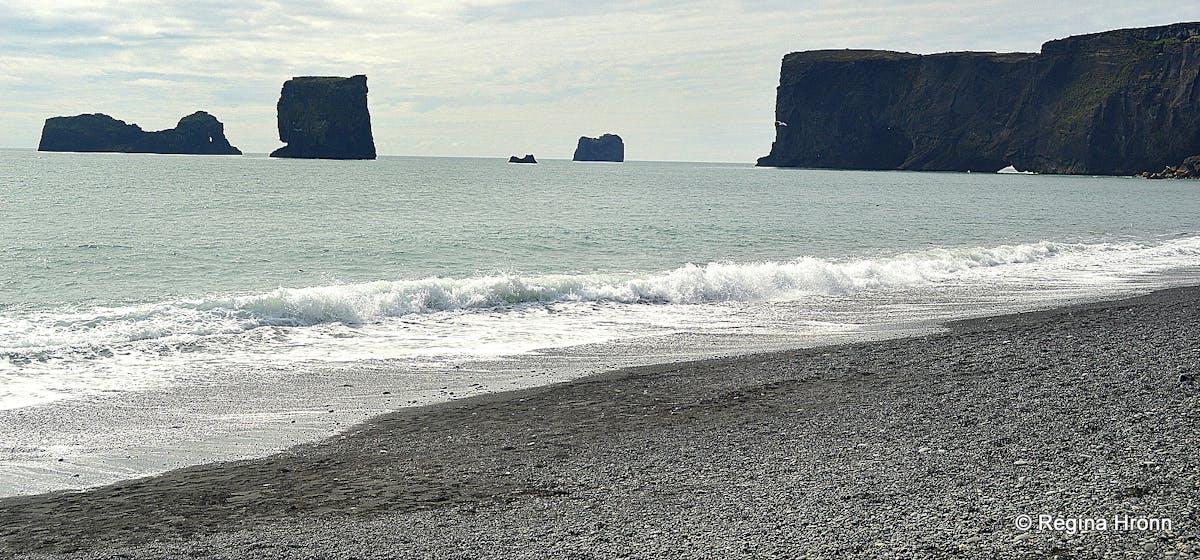 299904503 Extremely dangerous Waves by Reynisfjara and Kirkjufjara black Beaches in  South-Iceland!