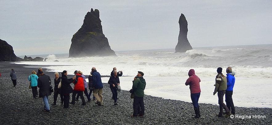 Reynisfjara beach S-Iceland