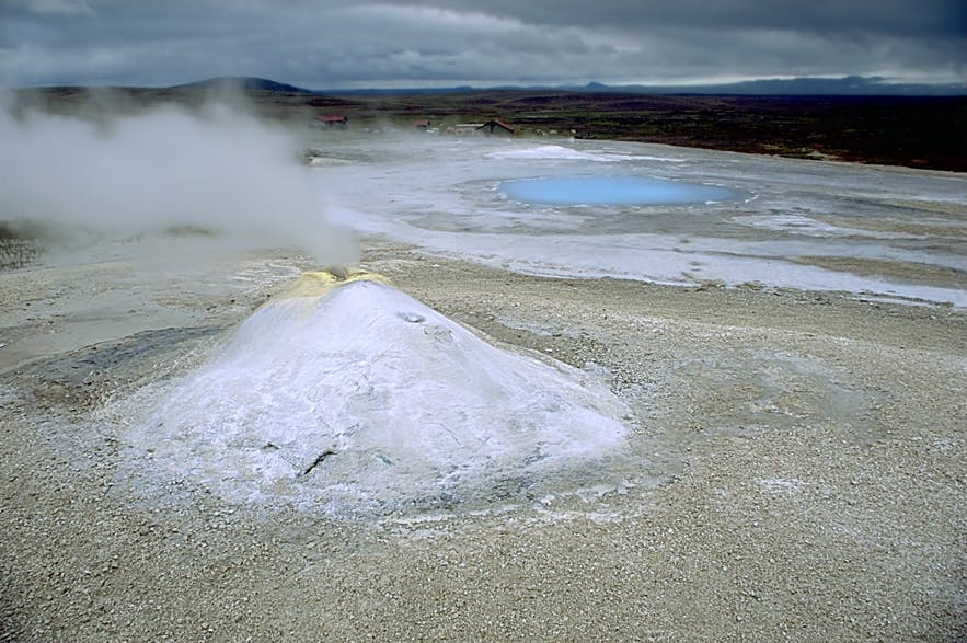 An example of the geothermal energy at Hveradalir