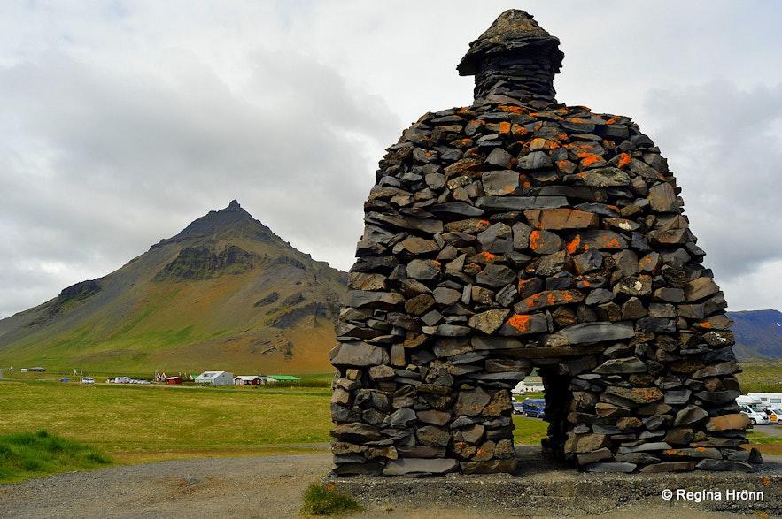Bárður Snæfellsnes statue Arnarstapi