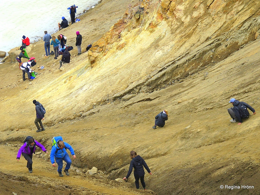 Víti explosion crater in Askja