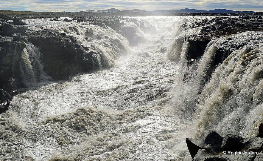 Gljúfrasmiður waterfall