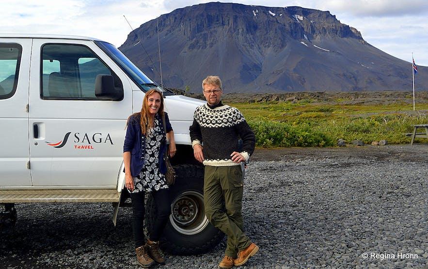 At Herðubreiðarlindir - Mt. Herðubreið