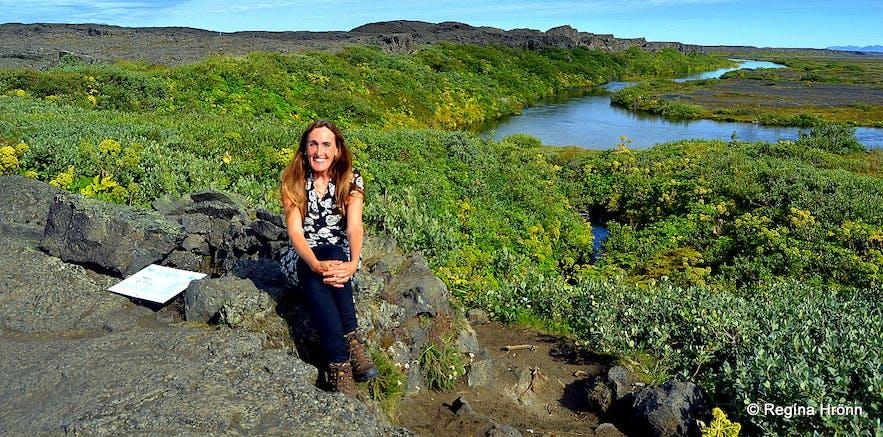 Herðubreiðarlindir and the Shelter of Fjalla-Eyvindur