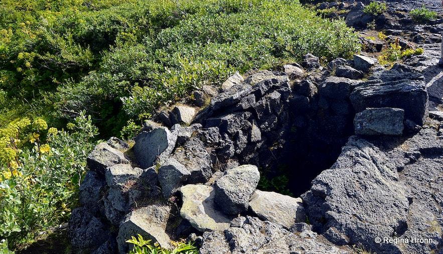 Eyvindarkofi - the Shelter of Fjalla-Eyvindur at Herðubreiðarlindir