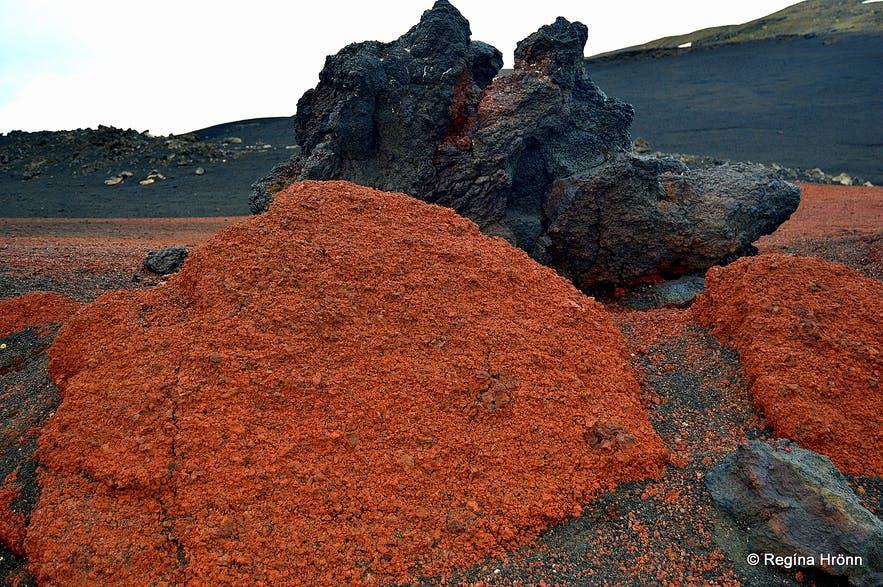 Lava formation en route to Askja