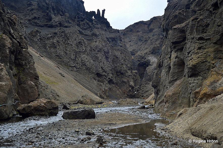 Drekagil canyon