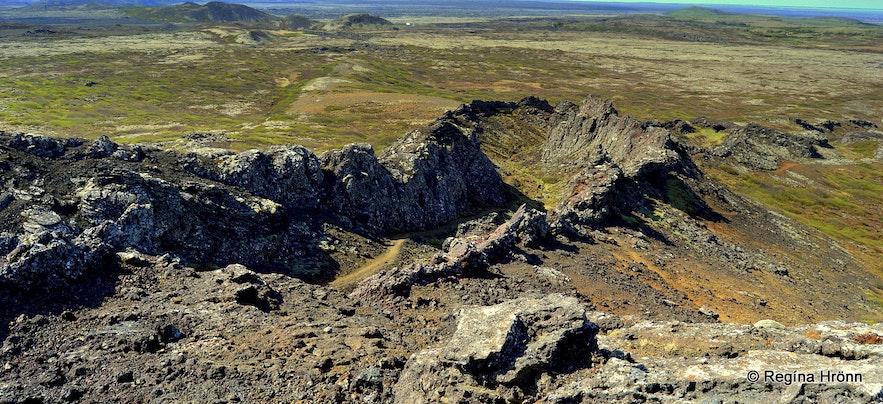 Búrfellsgjá sw-Iceland