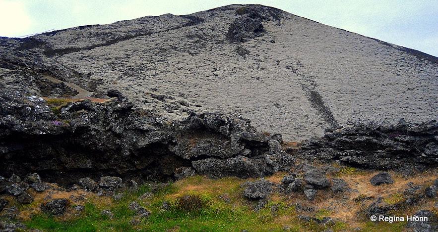 Grábrók crater West-Iceland