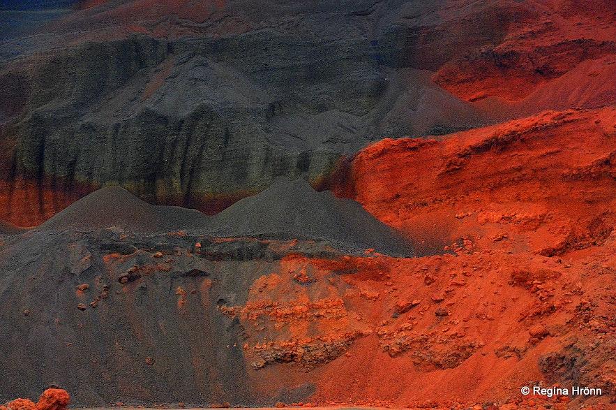 Seyðishólar craters South-Iceland
