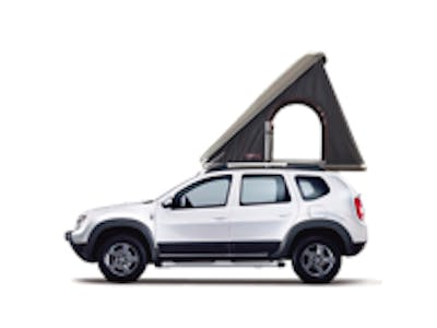 Dacia Duster + Roof Tent 2017