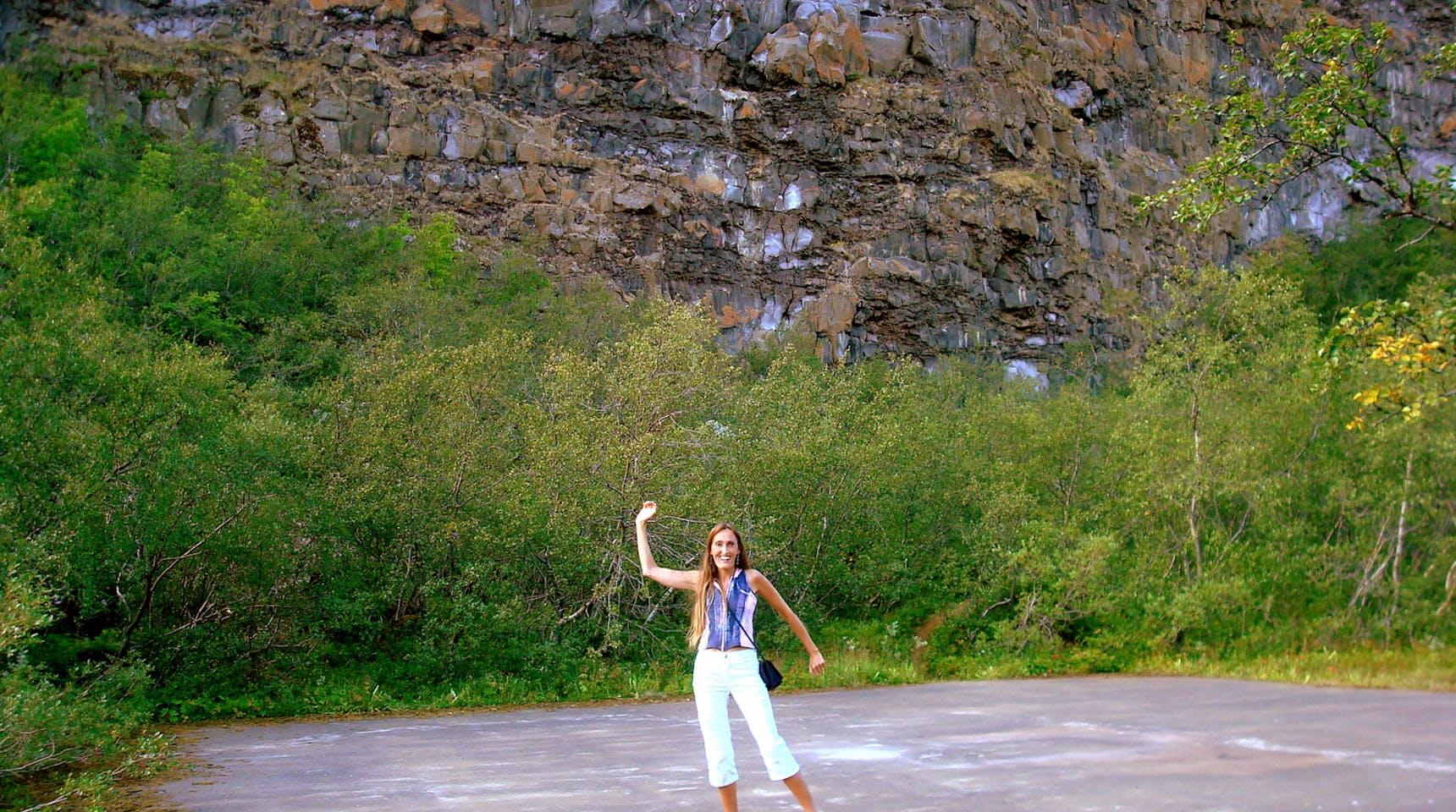 Asbyrgi And Botnstjorn In Jokulsargljufur In North Icelan