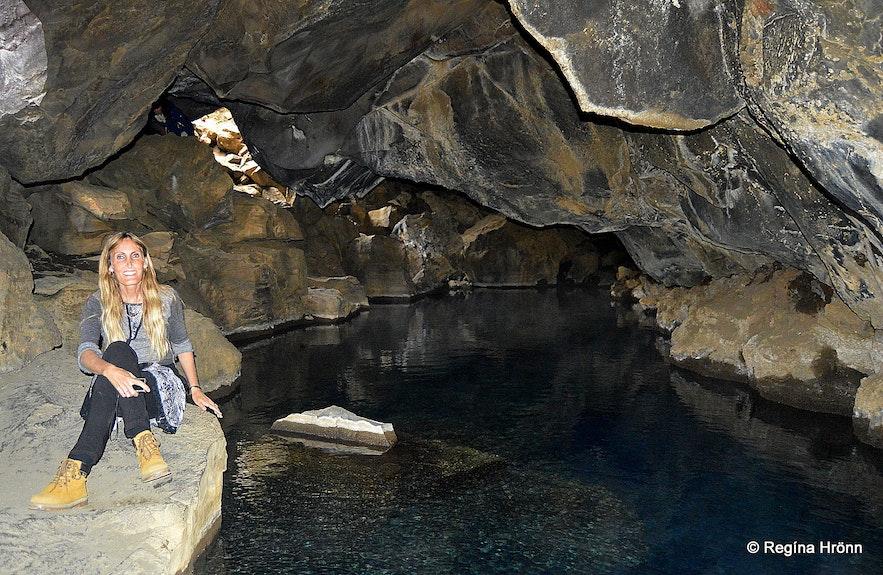 Grjótagjá lava cave Mývatn