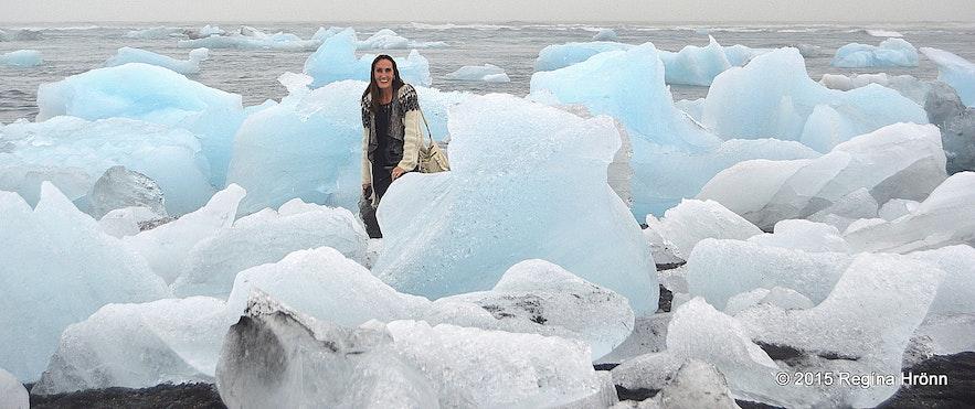 Loads of ice on Eystri-Fellsfjara