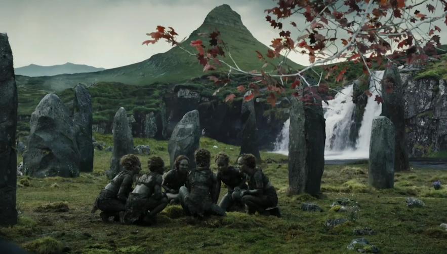 冰与火之歌权力的游戏-森林之子家园取景地-冰岛斯奈山半岛草帽山