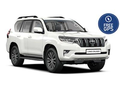 Toyota Land Cruiser (gratis Navi, 2018 - 2019) 2018