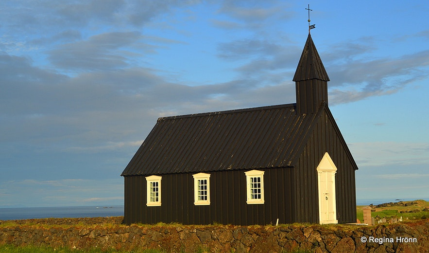 Búðakirkja church at Búðir Snæfellsnes peninsula