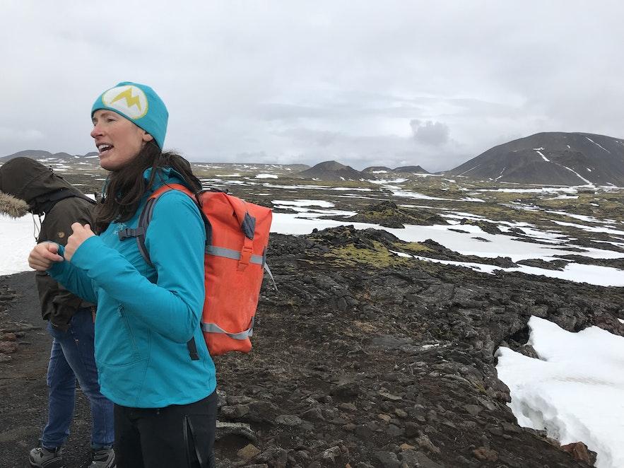 冰島火山內部探險導遊