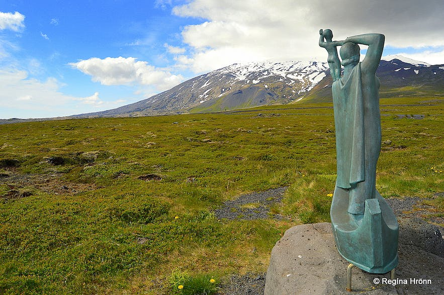 The Historical Laugarbrekka on the Snæfellsnes Peninsula in West-Iceland