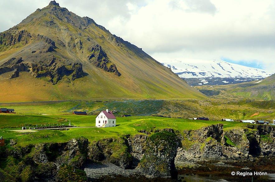 Arnarstapi on Snæfellsnes peninsula in west Iceland