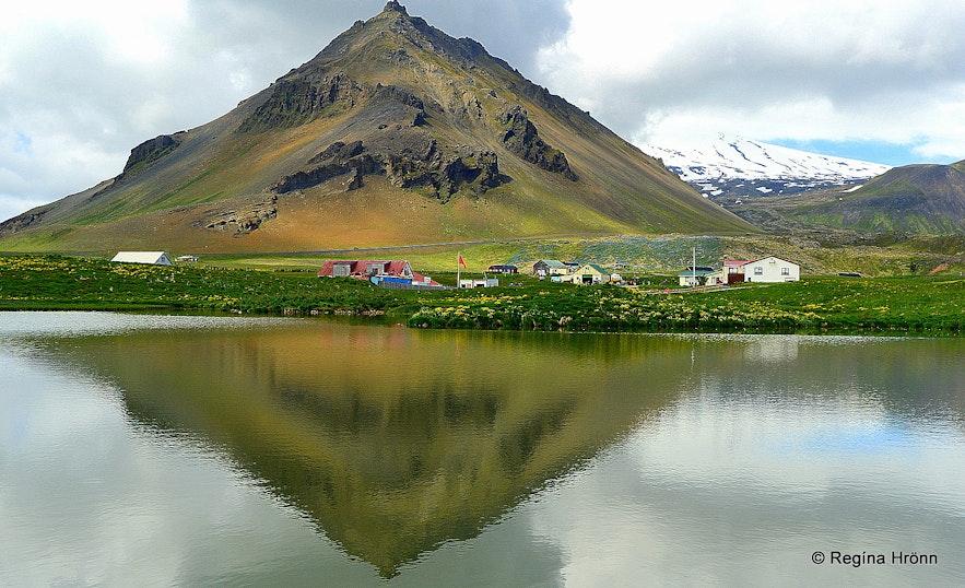Mt. Stapafell Arnarstapi Snæfellsnes