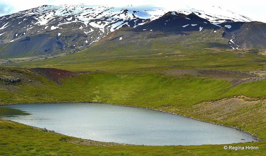 Bárðarlaug pool on the Snæfellsnes peninsula