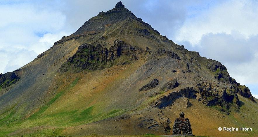 Mt. Stapafell Snæfellsnes peninsula