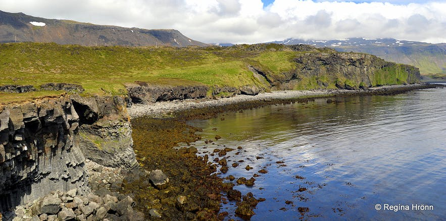 Sölvahamar cliff Snæfellsnes