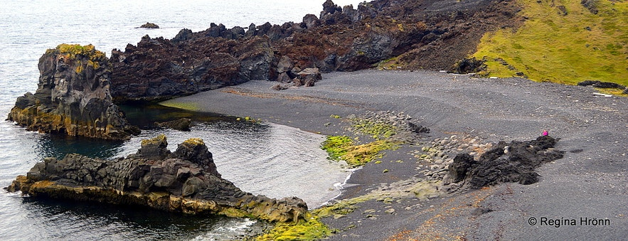 Dritvík cove Snæfellsnes peninsula