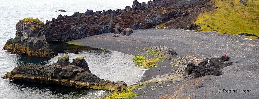 Dritvík cove on the Snæfellsnes peninsula