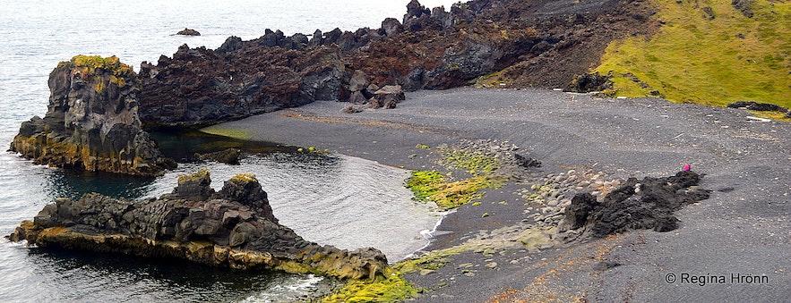 Dritvík beach Snæfellsnes
