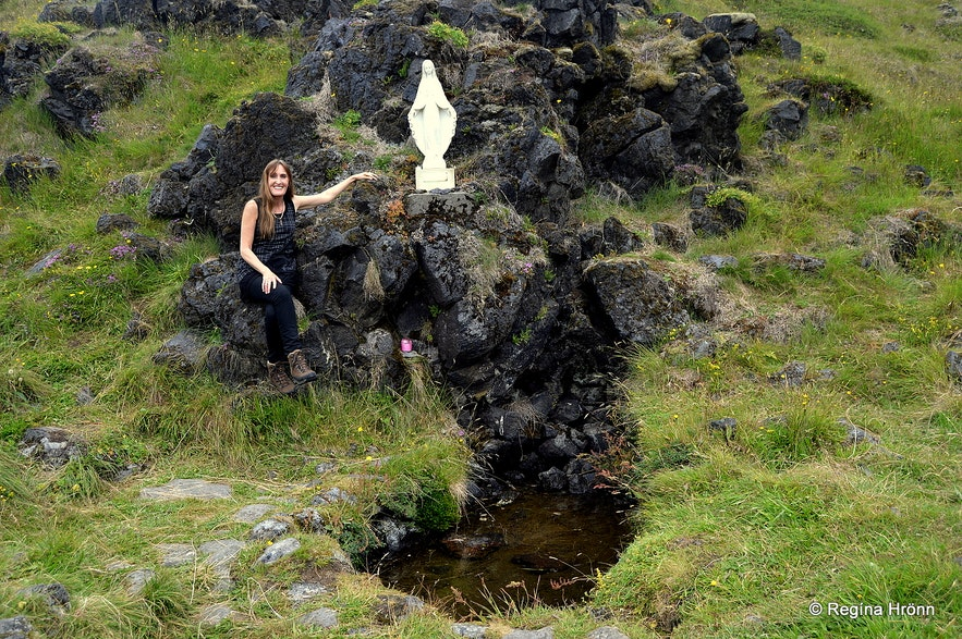 Maríulind holy spring water Snæfellsnes