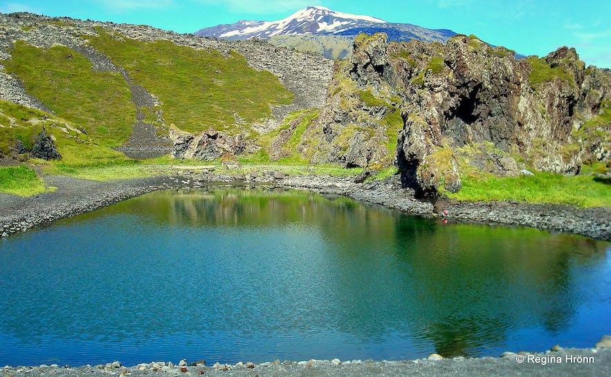 The Deep Lagoons on Snæfellsnes peninsula, west Iceland