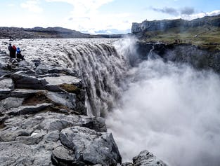 Dettifoss Waterfall & Asbyrgi Canyon Tour from Lake Myvatn