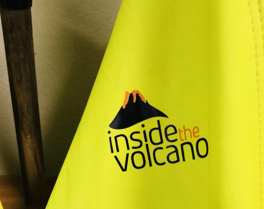 冰島 inside the volcano 雨衣