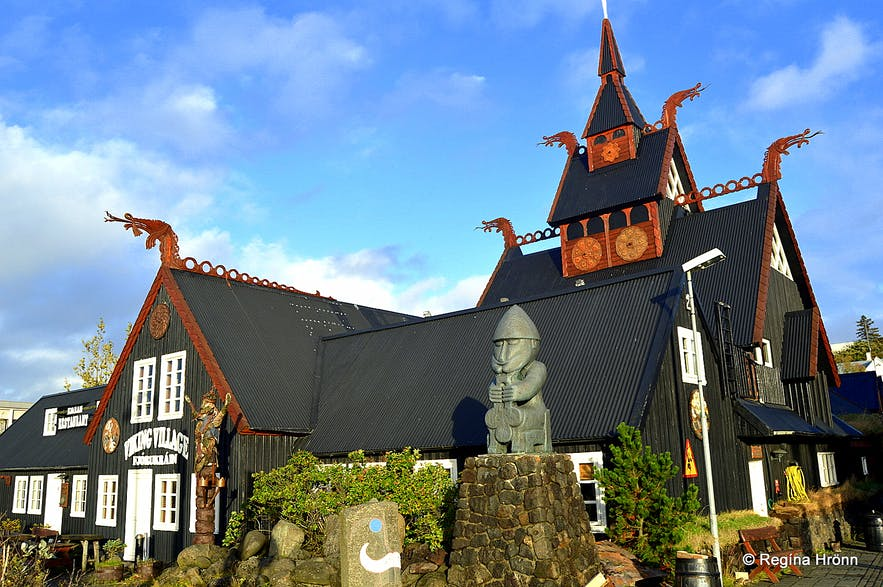 The Viking Village in the Viking Town Hafnarfjörður in SW-Iceland