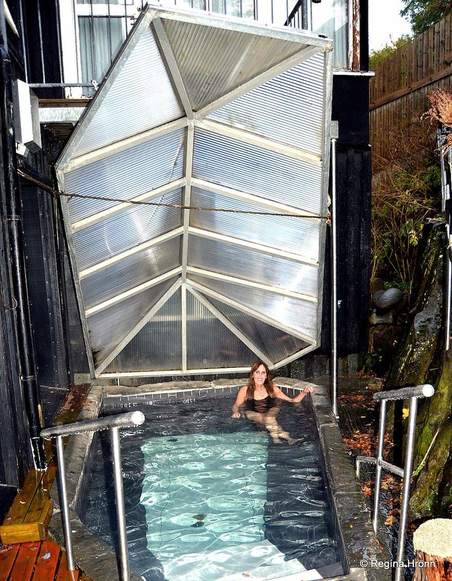 Regína at Hotel Viking at the Viking Village in Hafnarfjörður