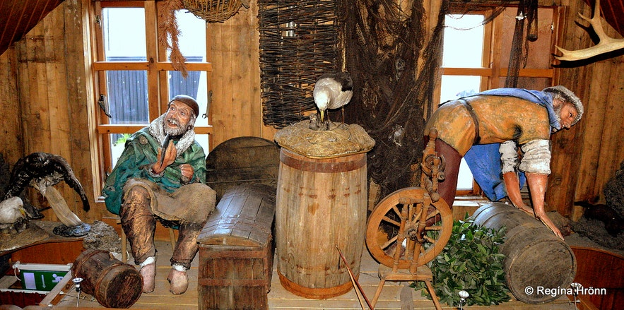 Fjörukráin Viking restaurant at the Viking Village
