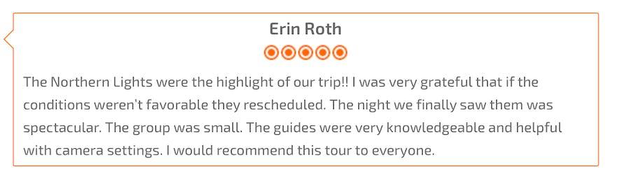 冰島超級吉普極光Tour review