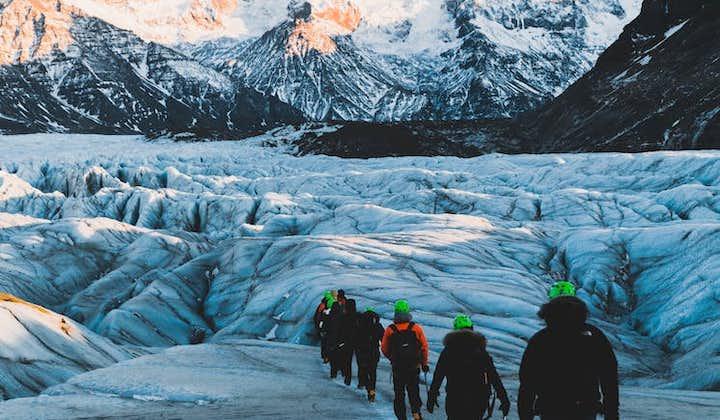3 w 1 połączone wycieczki ze zniżką: nurkowanie z rurką, jaskinie lodowe i wędrówki po lodowcu