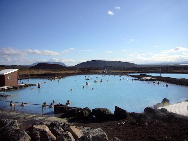 冰岛北部米湖