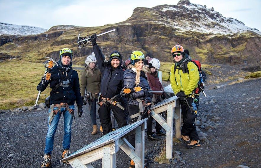 Wyjazdy grupowe stanowią duży ułamek w sektorze turystycznym Islandii.