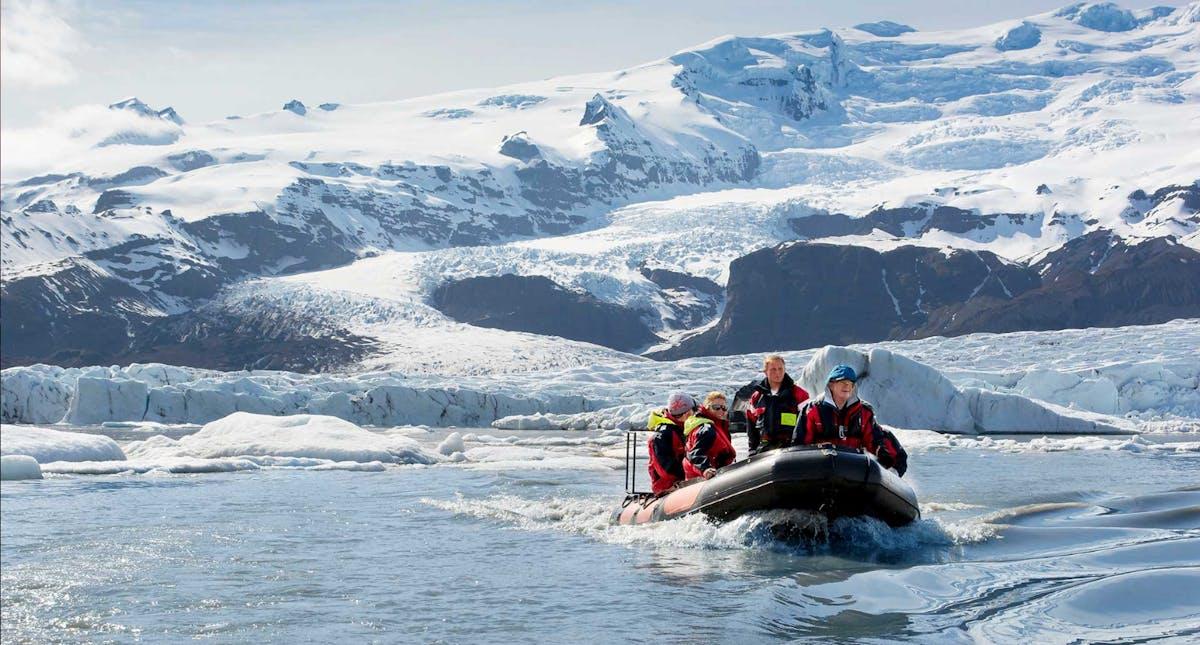 Fjallsárlón, Iceberg lagoon hero image