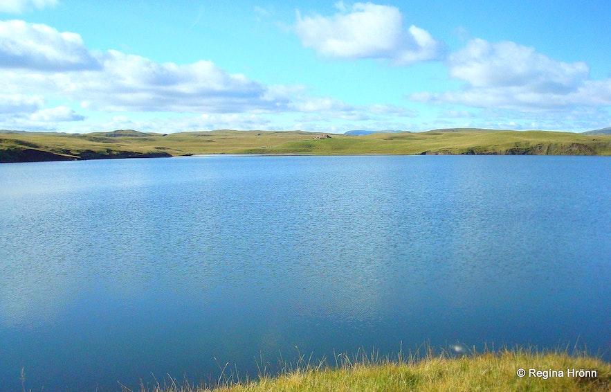 Lake Systravatn near Kirkjubæjarklaustur in South Iceland