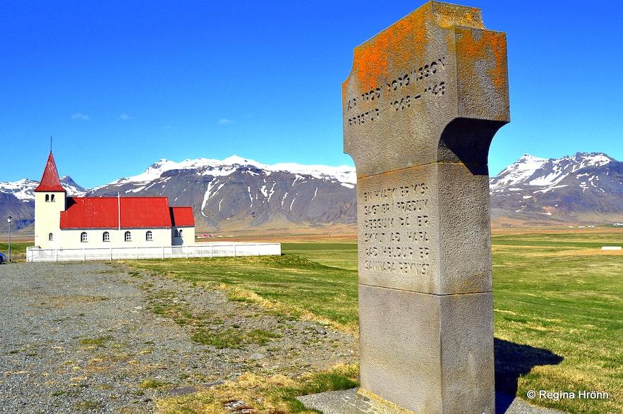 Staðastaður Snæfellsnes peninsula
