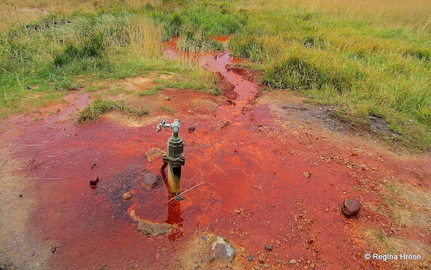 Ölkelda mineral spring Snæfellsnes peninsula