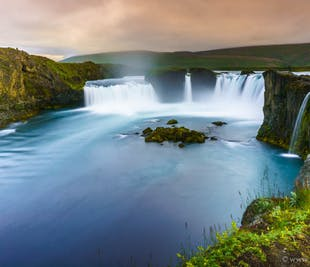 Godafoss Waterfall and the Myvatn Admision to the Nature Baths | Luxurious Day Tour from Akureyri