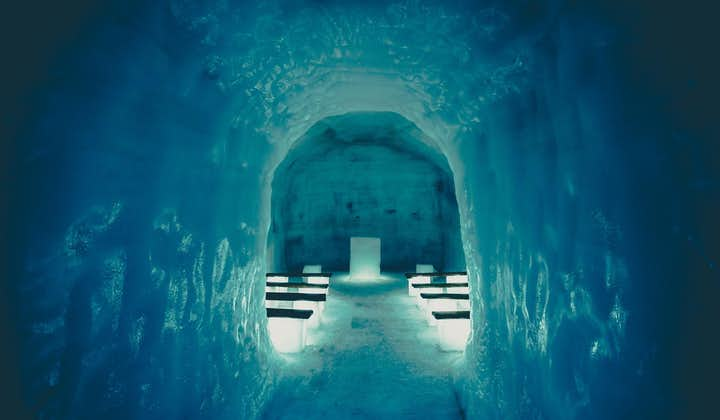 See the beautiful and intricate tunnels inside Langjökull glacier on a private tour of West Iceland.